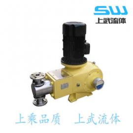 JMW系列隔膜式�量泵 JMW型隔膜�量泵
