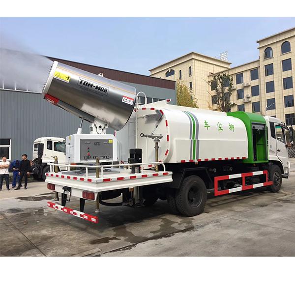 东风天锦8吨多功能抑尘车