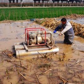 2017年水田专用挖藕机 气动池塘崴藕机 大功率莲藕收获机