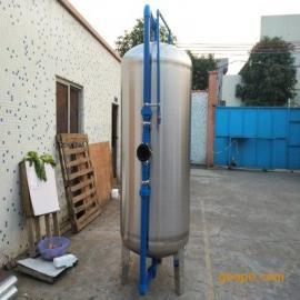供应井水除铁锰304机械过滤器立式砂炭过滤罐 广旗厂家直销