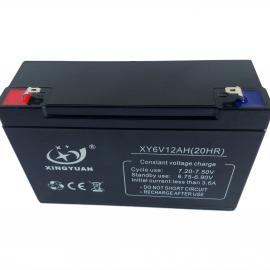 6V12AH 铅酸电池,电瓶,童车电池,消防电池