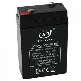 6V2.8AH 蓄电池,铅酸电池,电瓶,电子秤电池,消防电池