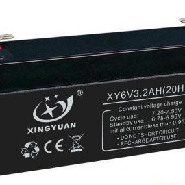 6V3.2AH 蓄电池,铅酸电池,电瓶,电子秤电池,消防电池