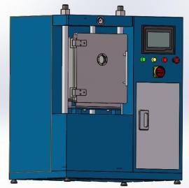 电动伺服小型真空热压烧结炉实验用真空热压炉