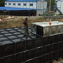 不�P�泵房水箱�M合保�叵�防工程水箱 地埋箱泵一�w化供水�O��