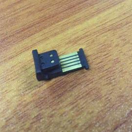 全塑一体式苹果U型无线充公头/iPhone背夹焊线式公头【5焊盘】