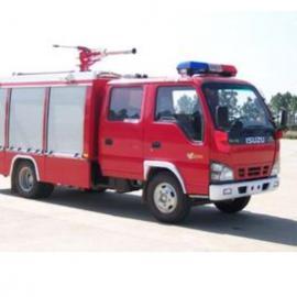 兰州带喊话超薄1.6米大消防车汽车车顶东风卡车长排LED爆闪24v