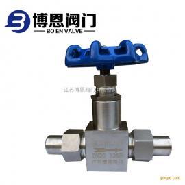不锈钢高压截止阀活接头对焊高压针阀超高压截止阀厂家
