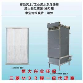 日本三菱中空纤维膜MBR膜组件HD-600LY