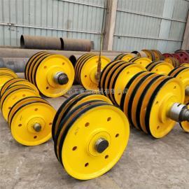 起重机专用滑轮 滑轮组 10T铸钢滑轮组 轧制滑轮组 型号齐全