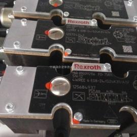 力士乐比例换向阀 4WREE6E08-2X/G24K31/A1V R900912156