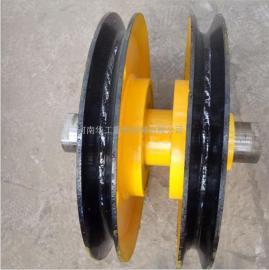 16T滑轮组 滑轮片 起重机吊钩滑轮 起重机滑轮组 双梁行车滑轮组