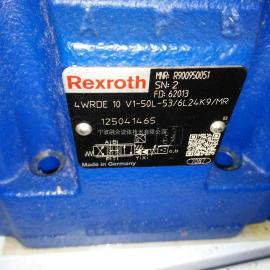 力士乐比例阀 4WRDE10V1-50L-5X/6L24K9/MR R900950051