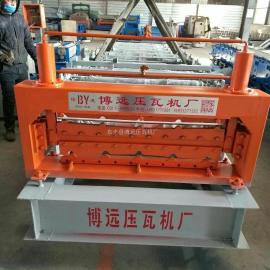 全自动双层彩钢瓦机@840-900全自动双层彩钢瓦机厂家