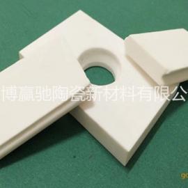 溜槽耐磨陶瓷衬板 氧化铝耐磨陶瓷衬板 粘接焊接固定 耐高温 抗冲