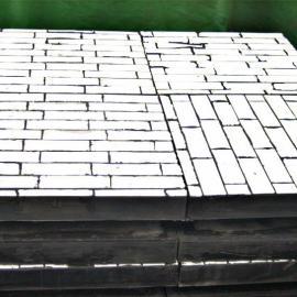 陶瓷橡胶钢板三合一复合耐磨板 耐磨抗冲击 不粘料 厂家供应