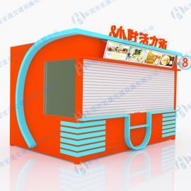 万达广场售货亭制作,广东专业生产售货亭厂家