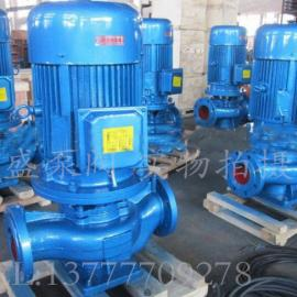 管道�x心泵IRG城市采暖系�y循�h�S帽�ISG100-125-11KW�P程16米