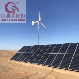 甘肃兰州酒泉内蒙古阿拉善盟左旗30kw风光互补发电系统