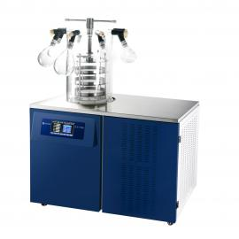 知信仪器小型冷冻干燥机ZX-LGJ-27多歧管压盖型冬虫夏草冻干机