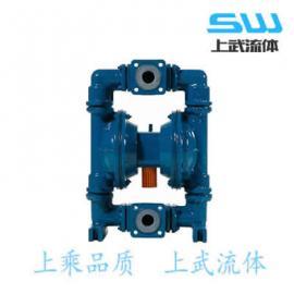 QBY型�r氟隔膜泵 耐腐�g��右r氟隔膜泵