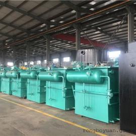 RBF 牲畜加工厂污水处理设备厂家 平流式溶气气浮机价格