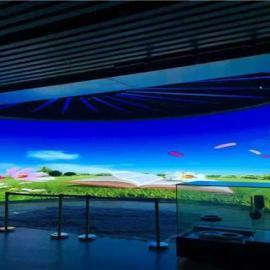 步行街安装P4高清全彩LED天空屏幕厂家设计报价