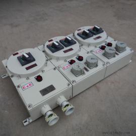 BXX52-4GXD防爆插座箱、上进下出挂墙式防爆插座箱