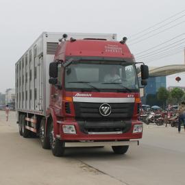 鲜活畜禽动物运输车-货箱式运鸡运猪车