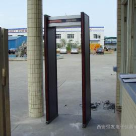 陕西通过式金属安检门娱乐场所专用金属探测门价格便宜