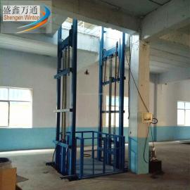 供应银川导轨式升降机简易链条式升降平台库房货梯