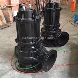 WQ/QW污水污物排污泵 65WQ20-60-11KW �o堵塞高�P程��水泵65口��