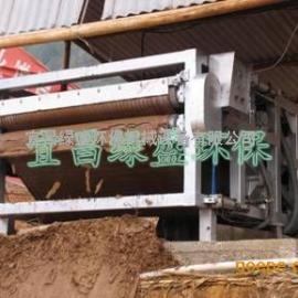 新型打桩污泥脱水机建筑污泥隧道污泥压干脱水效率高