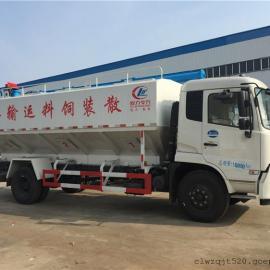 东风天锦20方散装饲料运输车大概多少钱