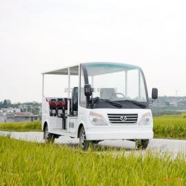钣金材质1.0排量11座燃油观光车