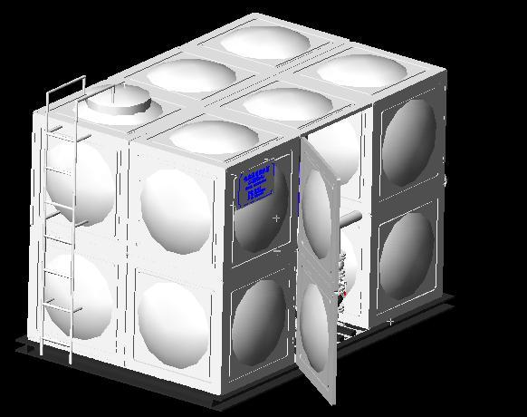 智能型箱泵一体化泵站介绍