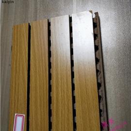 审讯室墙面木质吸音板厂家