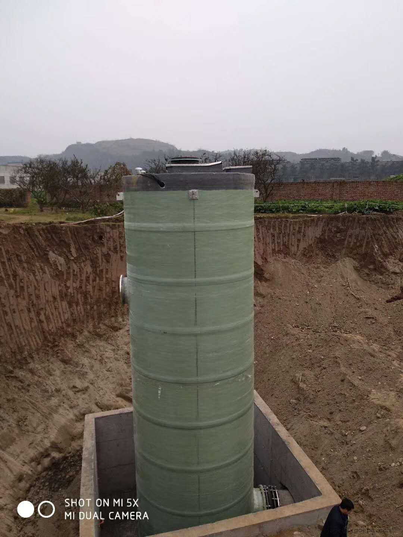 污水一体化提升泵站金泽