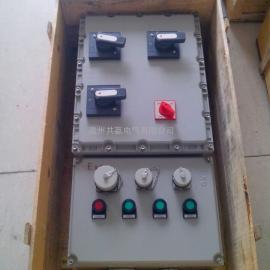 BXX52-3KT防爆插座箱、3路带总开防爆插座箱(回路)