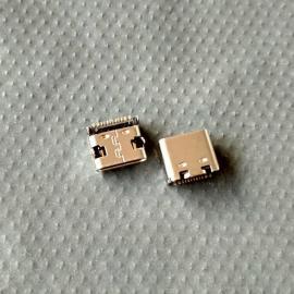 小米2代平板电脑尾插【短体7.4 单排16P/12p】type-c贴片母座