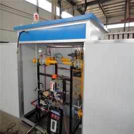 燃气调压箱燃气调压器CNG调压柜LNG调压箱LNG减压撬