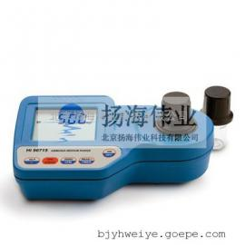HI96715/实验室氨氮浓度检测仪/实验室进口氨氮浓度检测仪