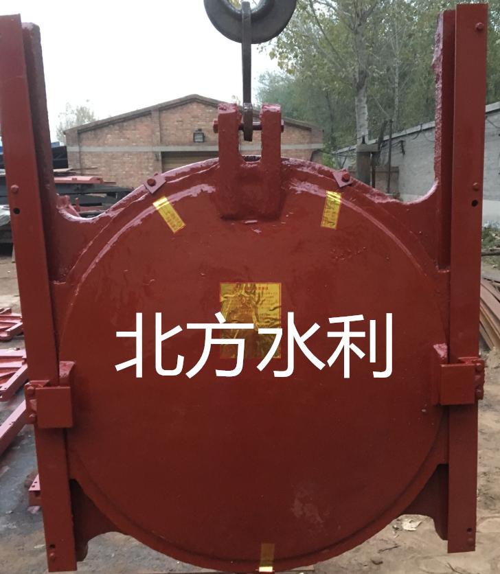 广西ZMQYDN1400靠墙式铸铁镶铜圆闸门