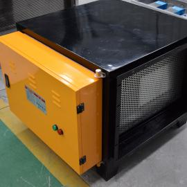 佛山餐饮油烟净化器低空排放4000风量高压静电式除油烟技术