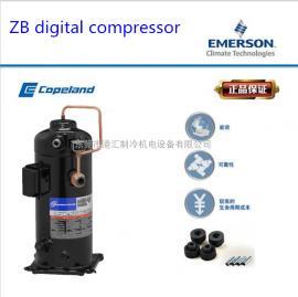原装进口Copuland数码谷轮制冷压缩机 中温 ZBD48KQE-TF5-559