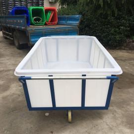 直销湖州1100牛筋方箱塑料方箱养殖箱