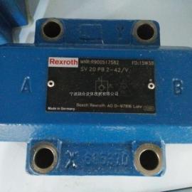 力士乐单向阀 SV20PB2-4X/V R900517582