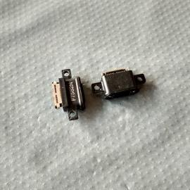 防水type-c母座【 沉板3.0/双排24P贴板/带支架 】小米6手机尾插