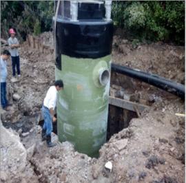 长沙一体化预制污水提升泵站