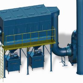 厂家直销工业集尘器 中央吸尘器 防爆除尘 切割机大功率吸尘设备